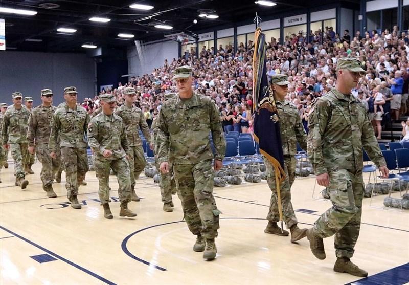 بازگشت گارد ملی ویسکانسن از افغانستان به آمریکا